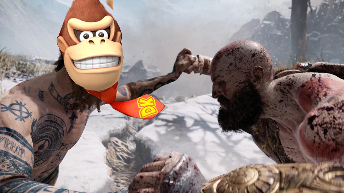 Kratos no puede derrotar Donkey Kong en Japón