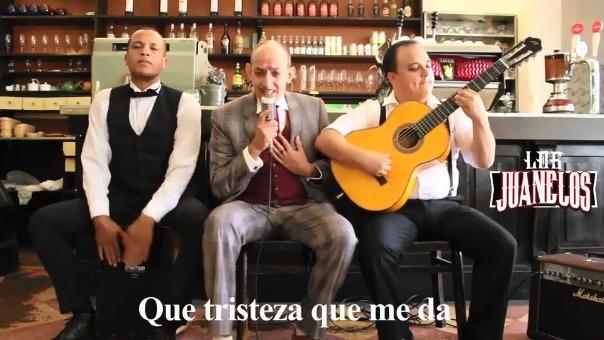 El grupo musical humorístico saca divertidos covers de canciones criollas.