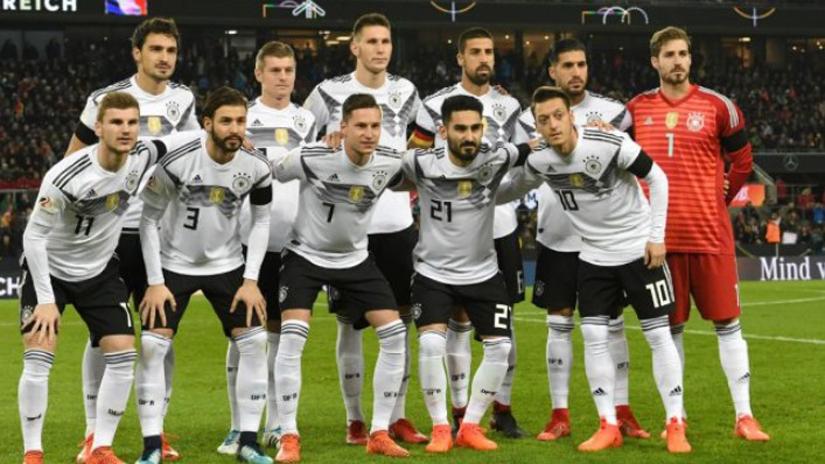 La Selección de Alemania es uno de los favoritos para ganar el Mundial.