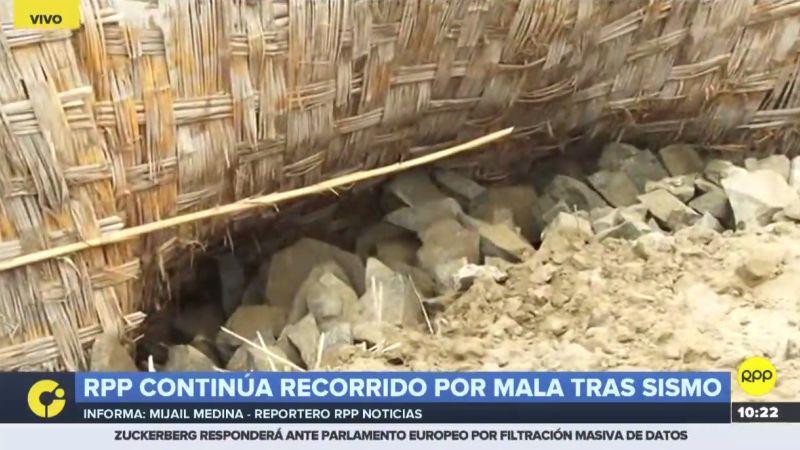 A través de RPP Noticias, los vecinos del asentamiento humano Joaquín Retes pidieron ayuda de las autoridades.