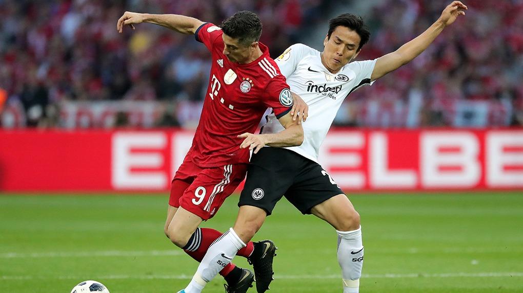 Eintracht Frankfurt ganó su quinta Copa de Alemania.