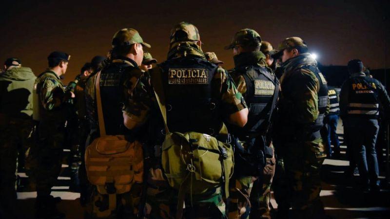 La Policía continúa desbaratando organizaciones criminales en el país.