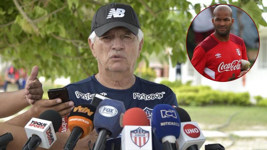 Alberto Rodríguez se unió a la selección sin permiso del Junior de Barranquilla.