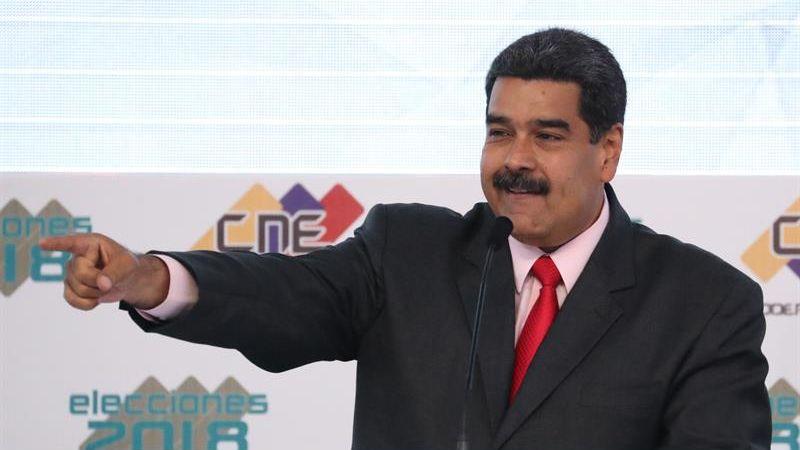 Nicolás Maduro fue reelegido presidente el domingo último, cargo que ostentará hasta el 2025.