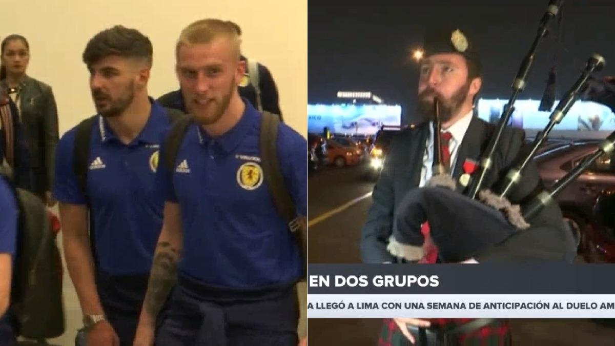 Los seleccionados de Escocia llegaron a Lima con varios de anticipación.