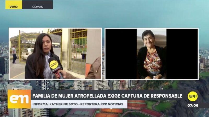 Los familiares de Juana Farfán Quispe, de 65 años, piden la máxima sanción para el responsable.