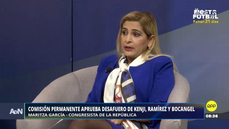 Maritza García estuvo esta mañana en Ampliación de Noticias.