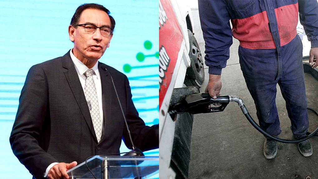 Aunque dijo que no retrocederían en la medida, Martín Vizcarra indicó que hasta fin se mes se evaluará el alza del ISC a los combustibles.