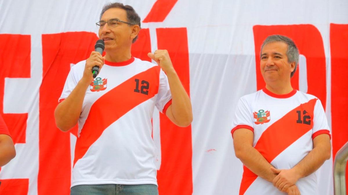 """Vizcarra participó de la campaña """"Guerreros MYPE"""", del Produce."""