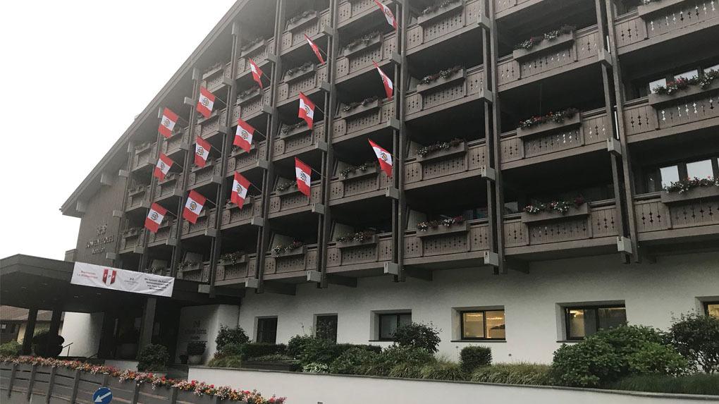 La Selección Peruana se instalará en Hotel Lowen Montafon de Austria.
