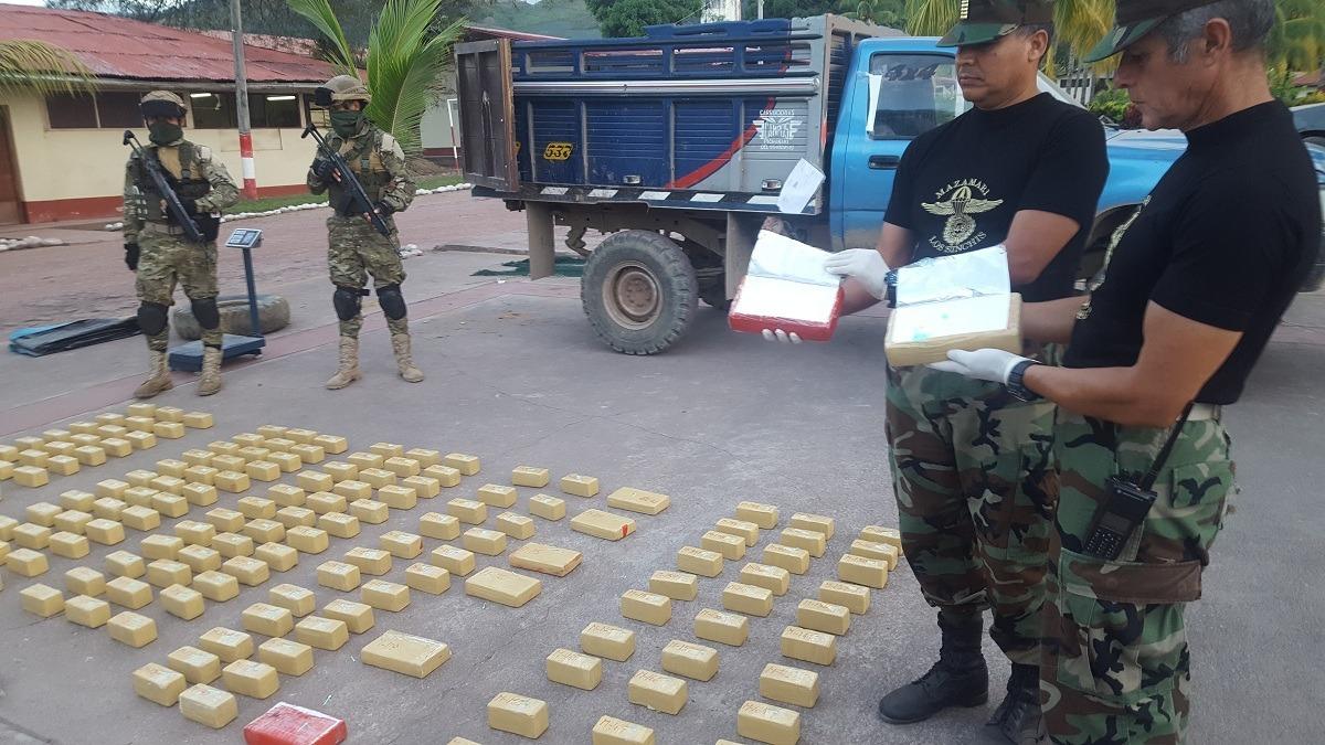 La acción policial contó con el apoyo de la Fiscalía Antidrogas de La Merced–Chanchamayo.