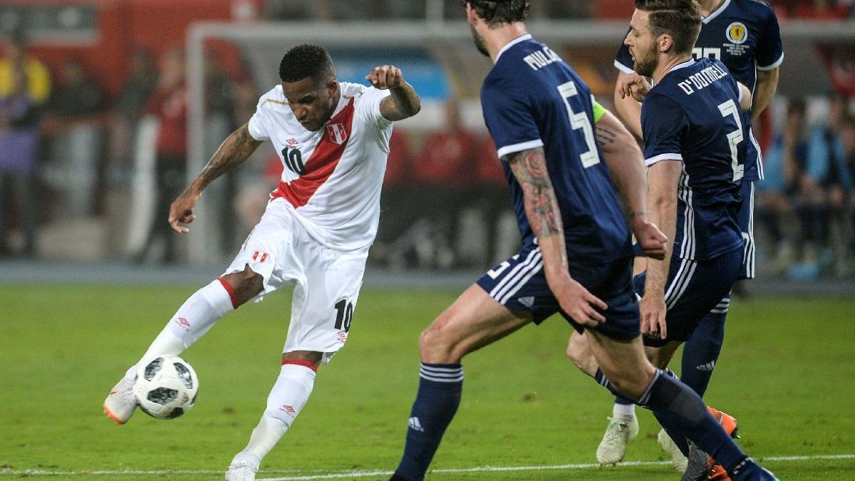 Mira los goles de Perú ante Escocia.