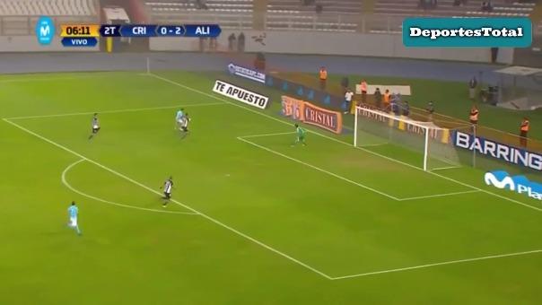 Alianza Lima encontró la ventaja temprano en el encuentro.
