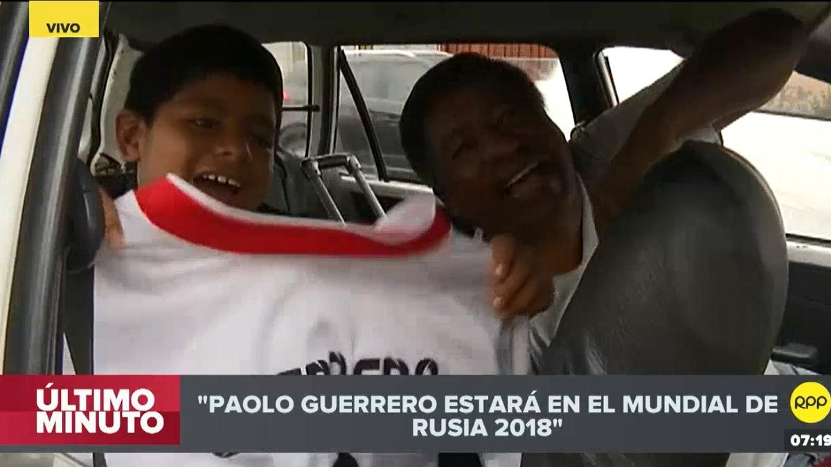 Paolo Guerrero jugará el Mundial.
