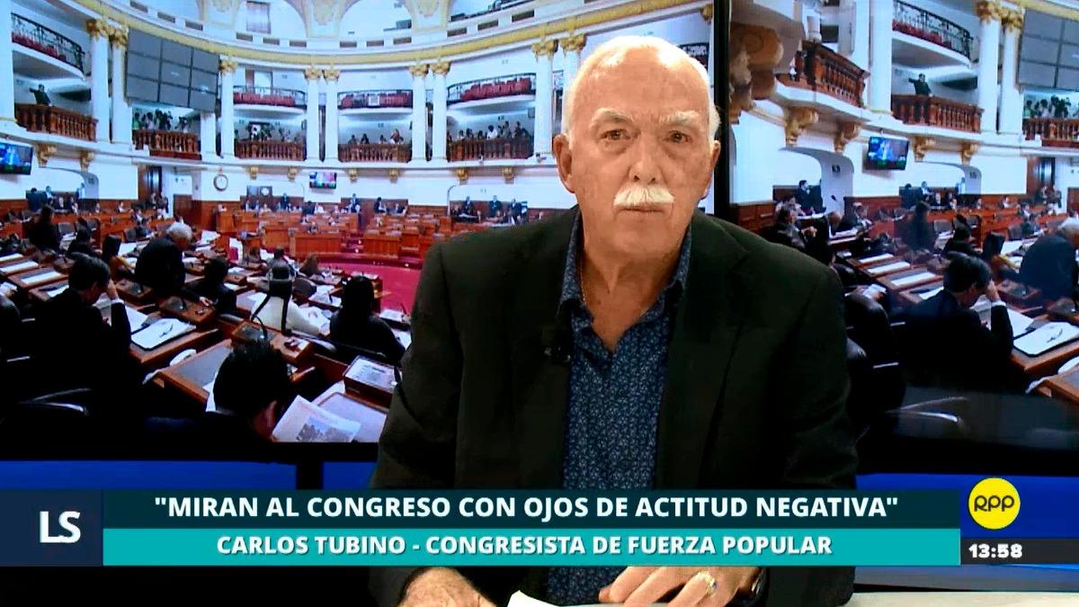 El congresista fujimorista defendió el trabajo de sus colegas.