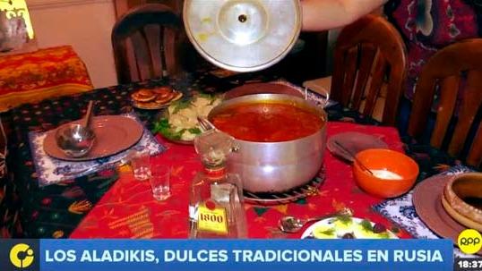 Conozca junto a RPP la comida tradicional de Rusia.