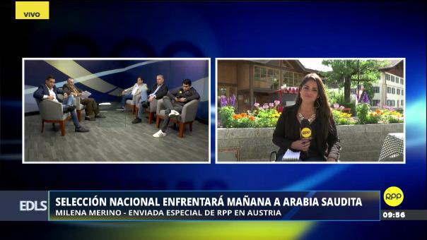 Nuestra enviada especial Milena Merino confirmó el once titular de la Selección Peruana ante Arabia Saudita.