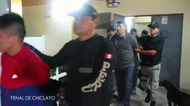 Por haber trasgredido las normas de seguridad interna de los penales fueron trasladados a otras cáceles del país