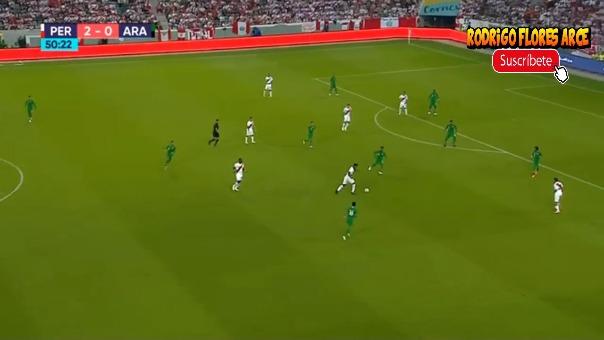 Revisa el resumen del Perú 3-0 Arabia Saudita con los goles de Paolo Guerrero y André Carrillo.