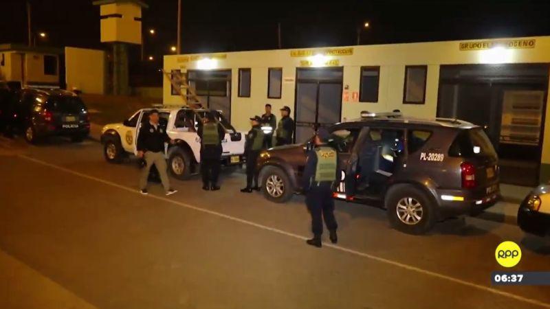 La operación se realizó esta madrugada en las provincias de Ascope, Pacasmayo y Trujillo, en la región La Libertad.