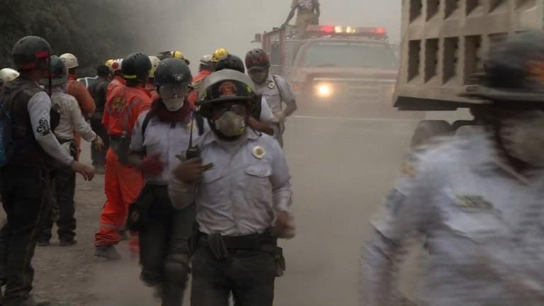 Volcán de Fuego aumenta su actividad en Guatemala.