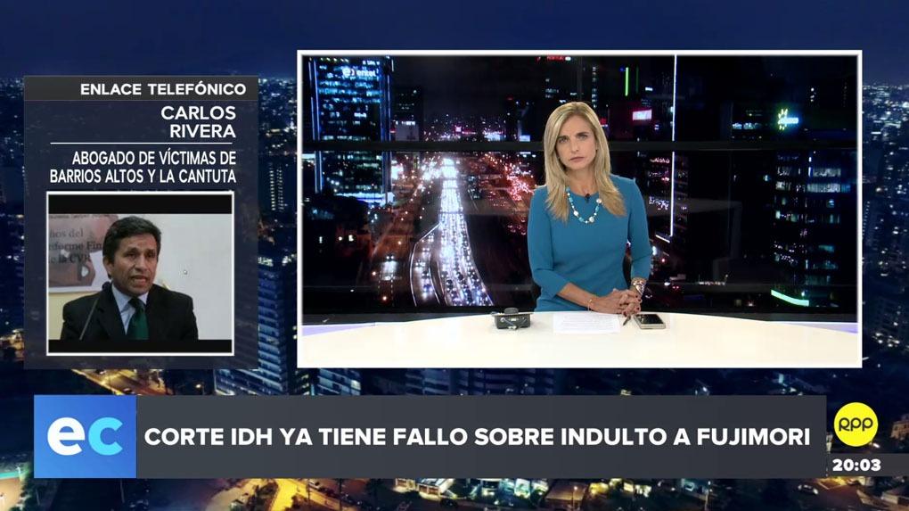 Carlos Rivera explicó en RPP las implicancias de la resolución de la Corte IDH para el expresidente Alberto Fujimori.