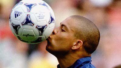 Ronaldo fue subcampeón en Francia 1998.