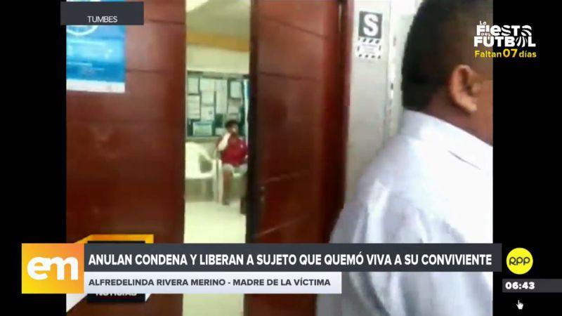 Alfredelina Rivera Merino teme por su vida y por la de su nieta, tras la liberación de Carlos Humberto Bruno Paiva.
