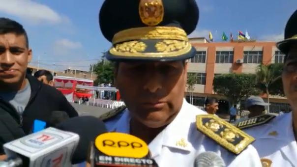 El jefe de la Macro Región Policial Piura, general PNP César Cervantes dijo que más denuncias por violencia se están registrando