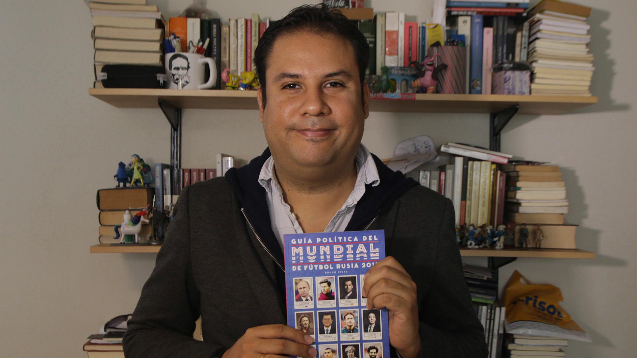 El autor Bruno Rivas también explica las curiosidades entre la política y el fútbol español.