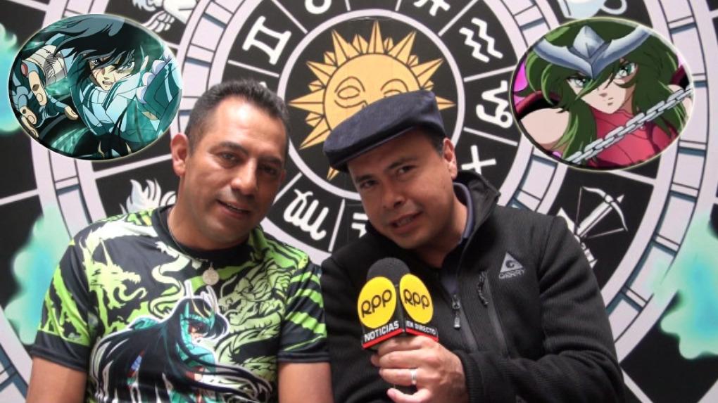 Ricardo Mendoza y José Vilchis, quienes dan vida con sus voces a Shiryu y Shun de
