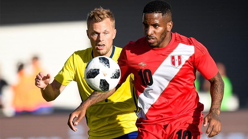 La Selección Peruana empató sin goles con Suecia en su último partido antes de Rusia 2018.