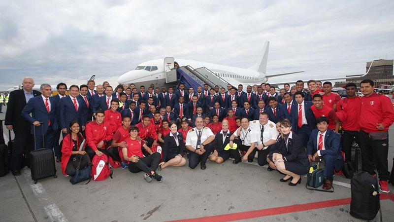 La Selección Peruana ya se encuentra en Rusia para la Copa del Mundo.