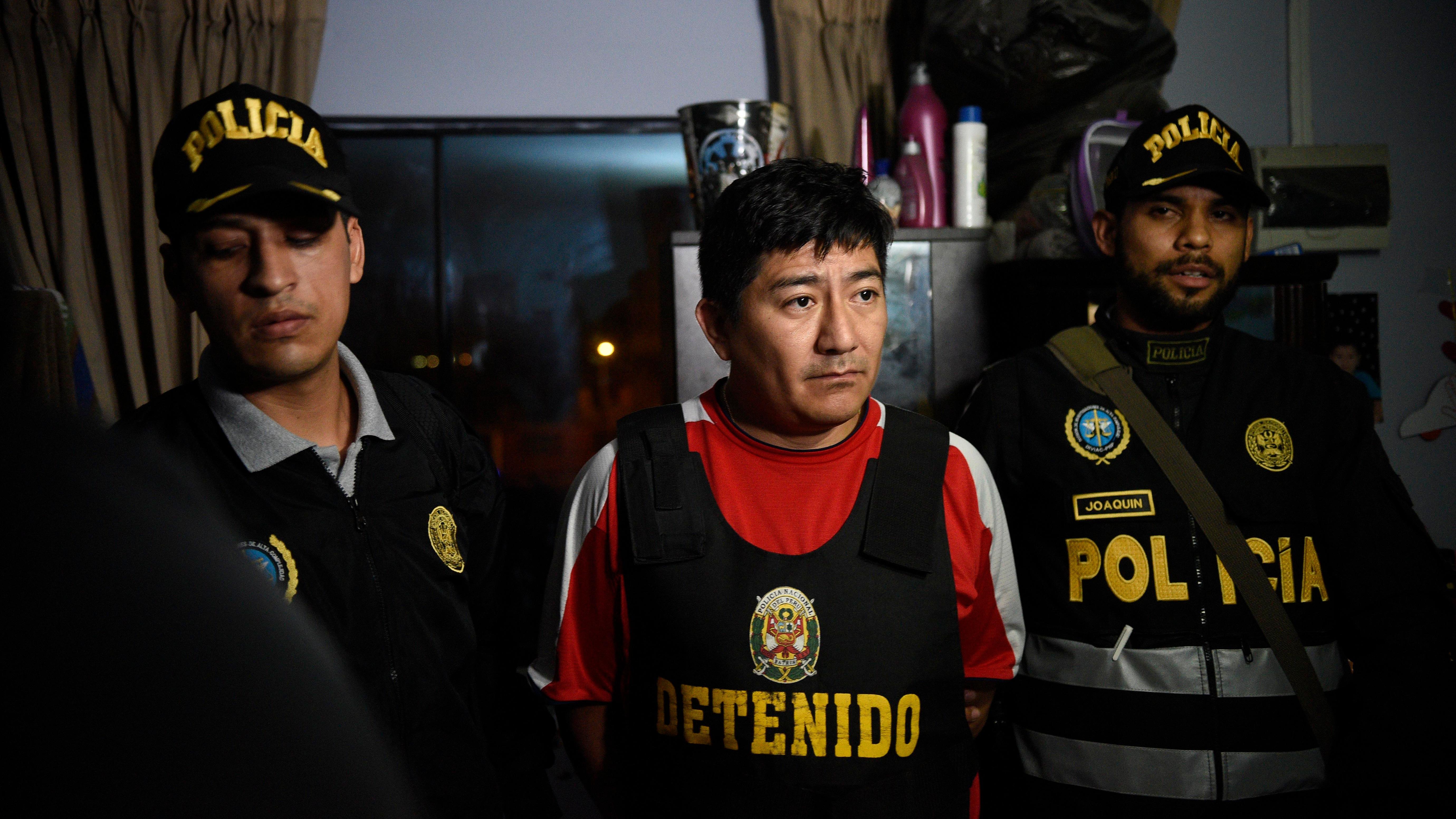 En la captura de esta banda criminal participaron 470 agentes policiales y 26 fiscales.