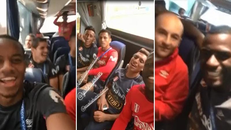 Se vive un ambiente fiesta dentro de la Selección Peruana.