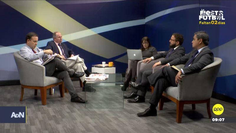 Representantes del Consejo de la Prensa Peruana y la Sociedad Nacional de Radio y TV estuvieron en Ampliación de Noticias.