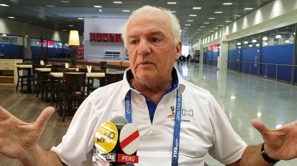Fernando Niembro se encuentra en Rusia para cubrir la Copa del Mundo para la cadena RCN.