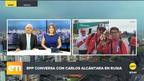 Carlos Alcántara viajó a Rusia y conversó con RPP Noticias.