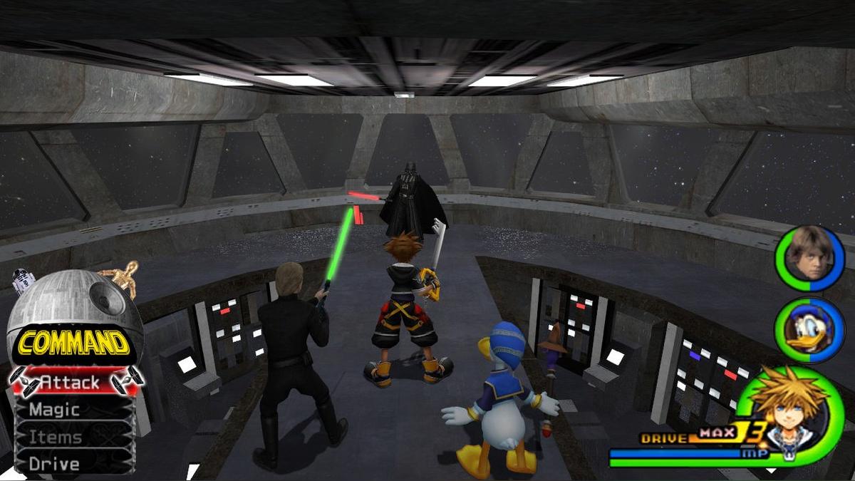 Probablemente no vayamos a ver a Sora enfrentándose a Vader o Kylo Ren.