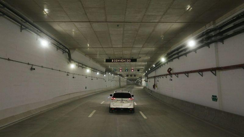 La Vía Expresa Línea Amarilla incluye un túnel de dos kilómetros de extensión que pasa por debajo del río Rímac.