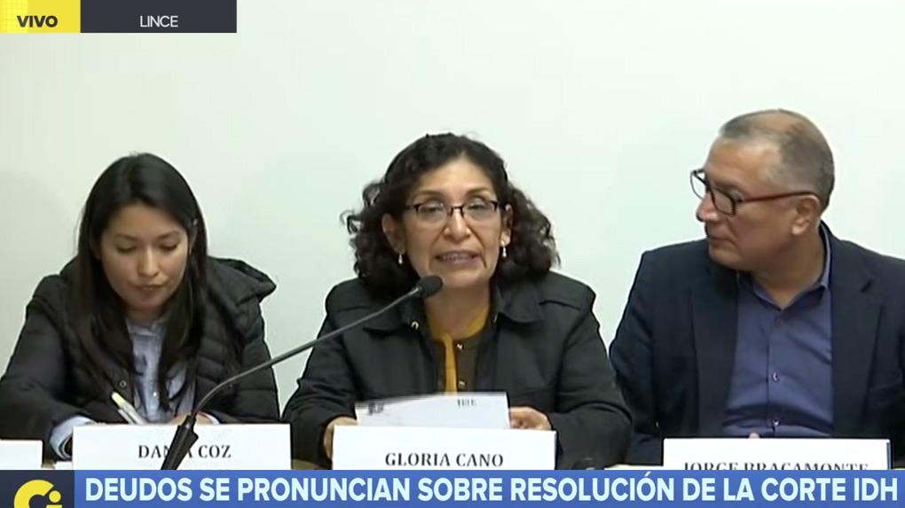Deudos se pronuncian sobre resolución de la Corte IDH sobre indulto a Alberto Fujimori.
