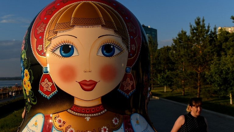 La muñeca es símbolo de la cultura rusa.