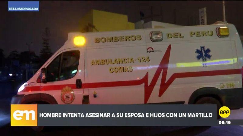 El crimen ocurrió en el asentamiento humano Bellavista, en Independencia.
