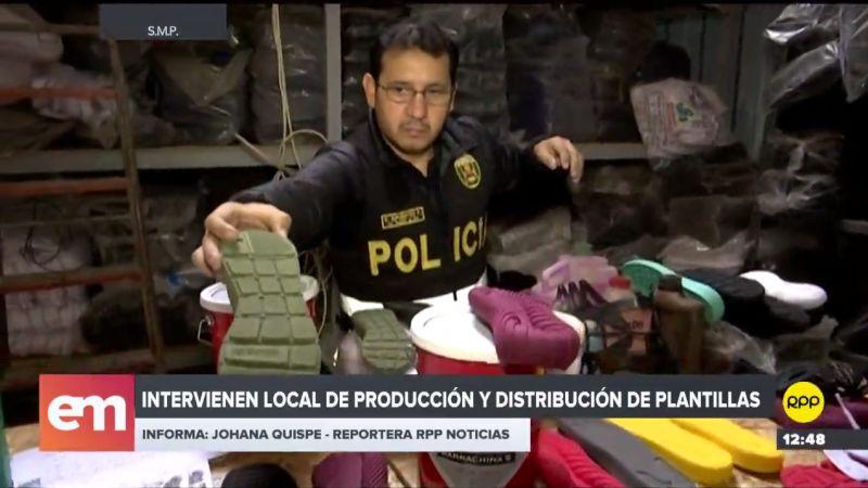 Lo incautado supera los 340 millones de soles en el mercado informal.