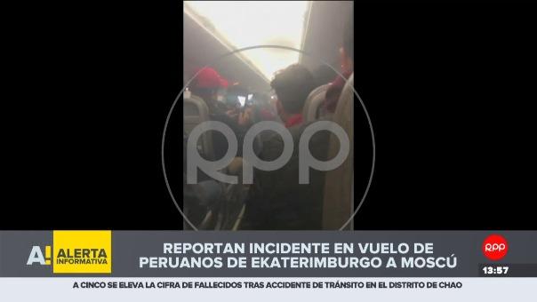 Alrededor de 70 compatriotas iban en el avión.