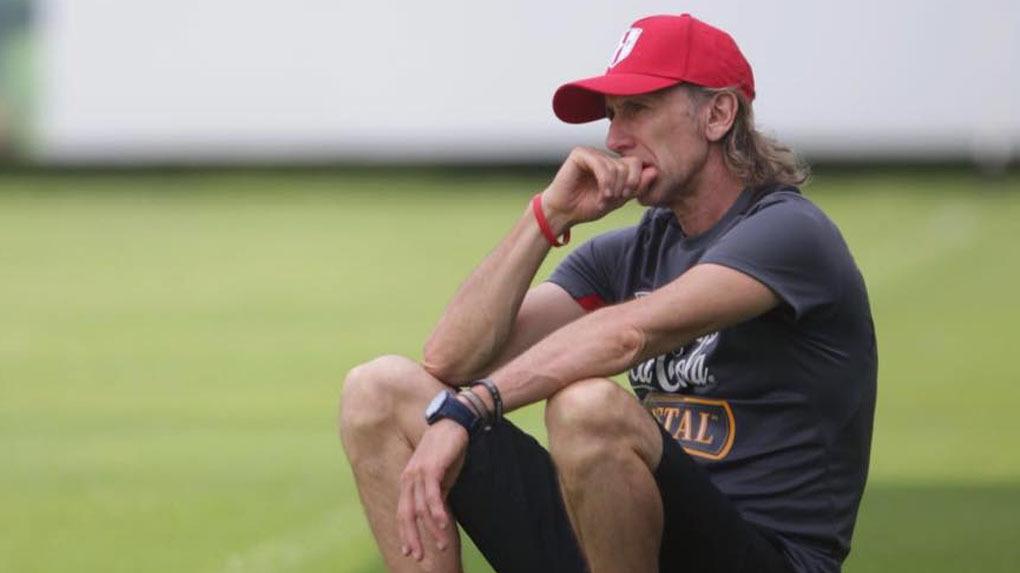 Ricardo Gareca está al mando de la Selección Peruana desde 2015.
