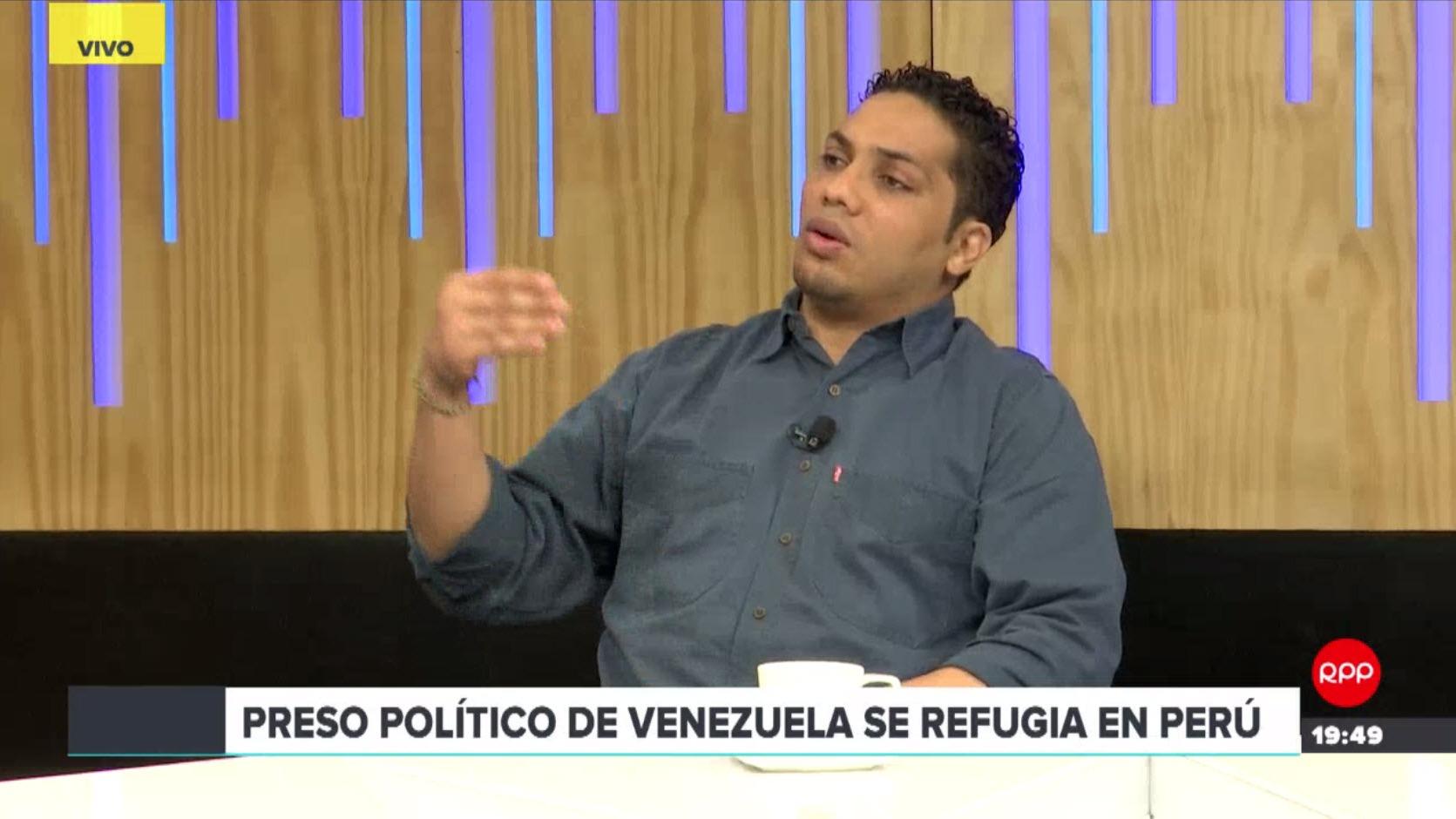 Vilca Fernández fue exiliado desde Venezuela al Perú el pasado 14 de junio.