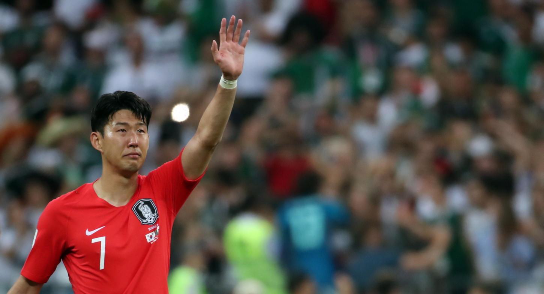 Heung-Min Son ocupó el tercer y segundo lugar con Corea del Sur en las Copas Asiática del 2001 y 2015, respectivamente.