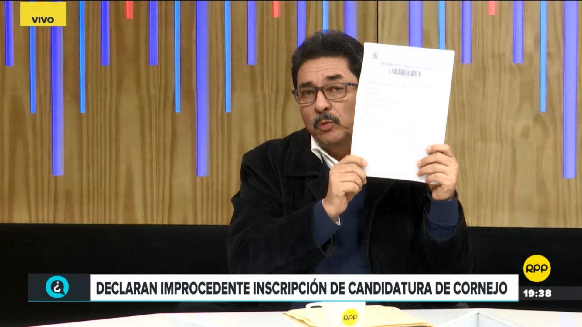El exministro de Transportes dijo que su inscripción a Democracia Directa es válida y cuenta con los documentos para demostrarlo.