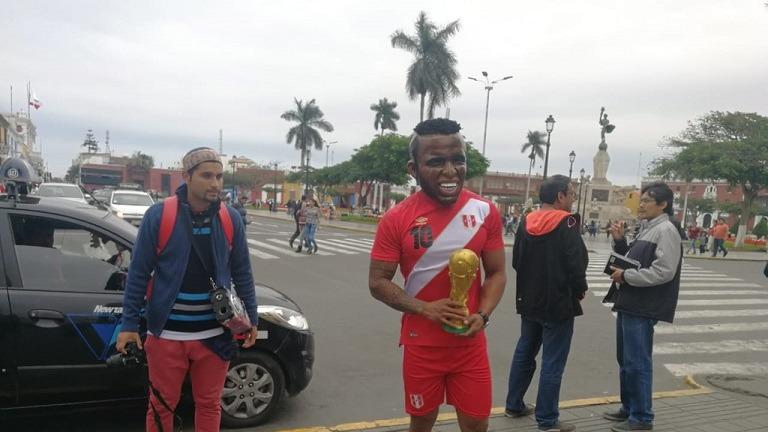 El Jefferson Farfán venezolano agradeció el gesto que tuvo Paolo Guerrero con el 10 de la selección peruana.